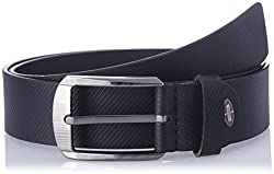 Dandy AW 14 Black Leather Men's Belt (MBLB-233-S)