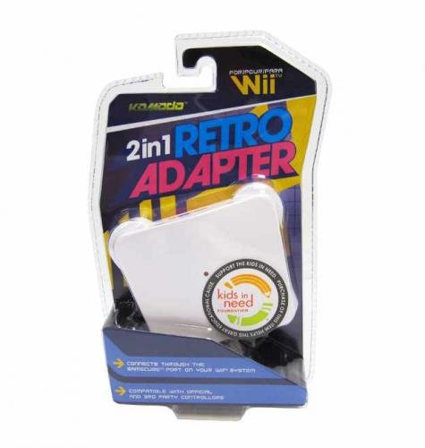 Nintendo Wii 2 in 1 Retro Adapter