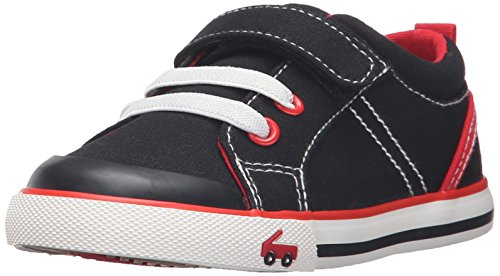 See Kai Run Tanner Sneaker (Toddler/Little Kid), Black/Red, 8 M US Toddler (See Kai Run Shoes compare prices)