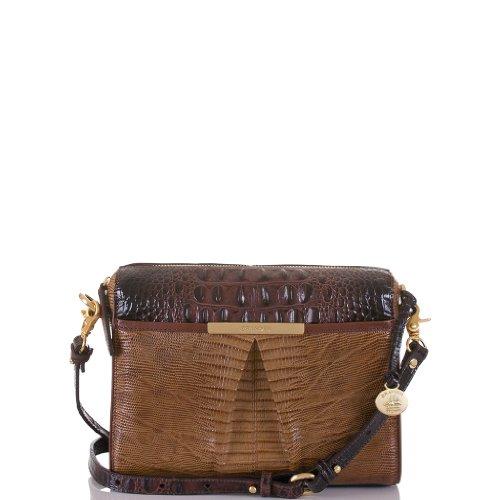 Grayson Shoulder Bag<br>Tri-Texture Fawn