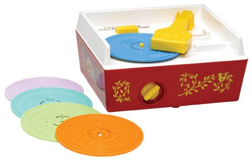 Music Box Record Player: Fisher Price Classic Retro Toy Series