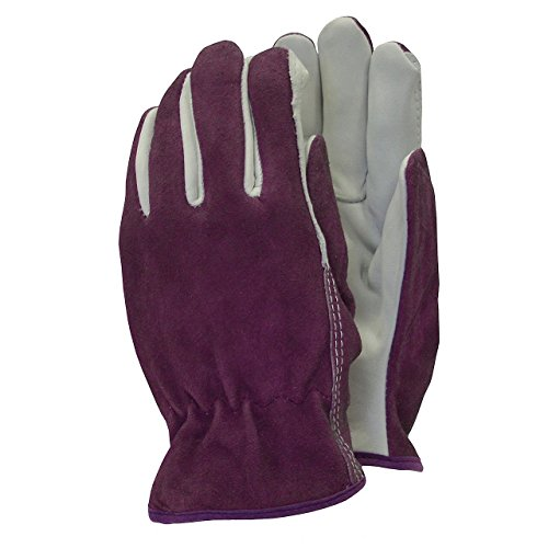 town-country-medium-suede-and-leather-premium-gardening-gloves-for-ladies