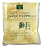 Earth Therapeutics Terry Covered Bath Pillow, Natural 1 ea