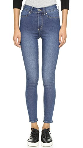 cheap-monday-womens-high-spray-jeans-mid-blue-26-27