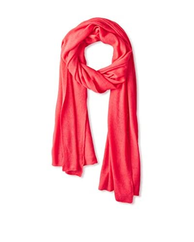 Portolano Women's Light Weight Cashmere Wrap, Cherry Red