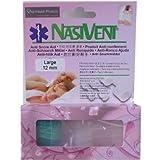 Nasivent Anti Snoring and Sleep Apnea Aid - Single Size 2 Pack