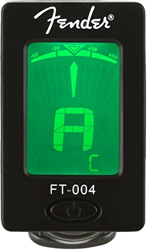 Fender Clip-On Tuner FT-004 for Guitar, Ukulele, Bass, Violin, Mandolin, and Banjo (Tuners Fender compare prices)
