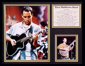 Dave Matthews/Collectors Plaque Framed