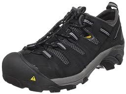 KEEN Utility Men\'s Atlanta Cool Steel Toe Work Shoe,Black,9 D  US
