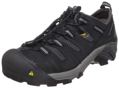 Keen Utility Men's Atlanta Cool Steel Toe Work Shoe,Black,12 D  US Picture