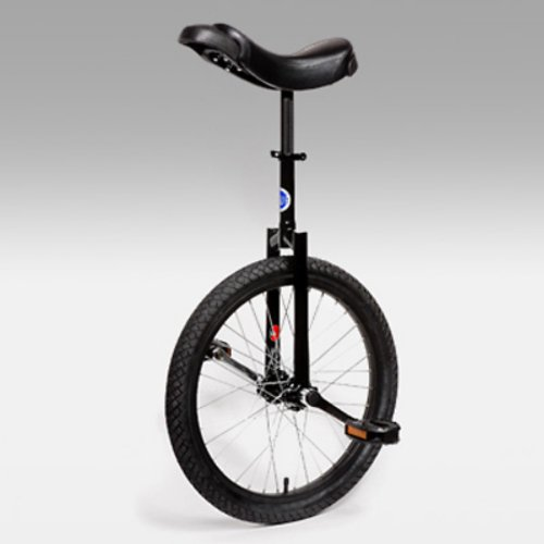 Buy Low Price Club 20 Inch Freestyle Unicycle – Black (UNI-CLUB-BLK)