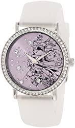 Ed Hardy Women's LV-WH Love Bird White Watch