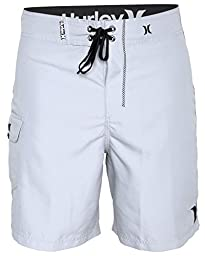 Hurley Men\'s One and Only 22 Inch Boardshort, White, 29