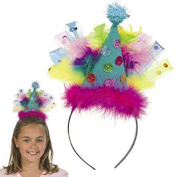 Plastic Birthday Party Hat Headband