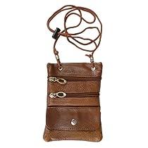 Daxx Leather Multi-pocket Neck ID Holder