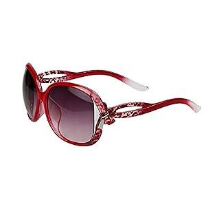xhorizon TM Vintage Oversized Frame Quality Fashion ZY Oversized Sunglasses UV400 CY