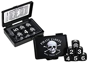 Pirate Farkel Roll These Bones Dice Game