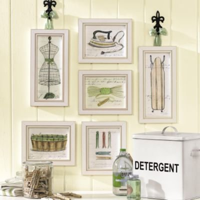 Decorating Ideas Ballard Designs Laundry Room Prints Clothes Line