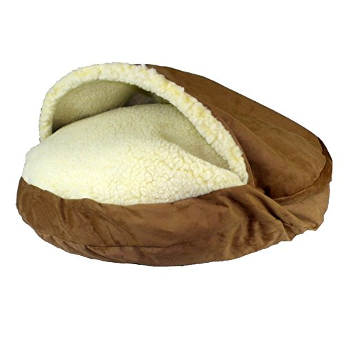 snoozer orthopedic luxury microsuede cozy cave pet bed - Cozy Cave Dog Bed