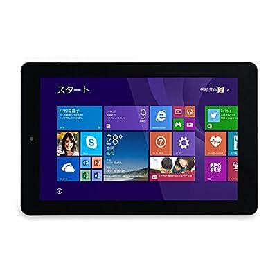 iiyama PC 9P1150T-AT-FEM [Windows 8.1搭載] Windowsタブレット/8.9型WXGA液晶(マルチタッチ対応)/Atom Z3735F/eMMC32GB/2GB/光学ドライブなし/着脱式キーボード付属