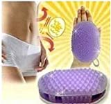 Anti Cellulite Body Massager Silicon Brush Glove Scrub Bath/Shower