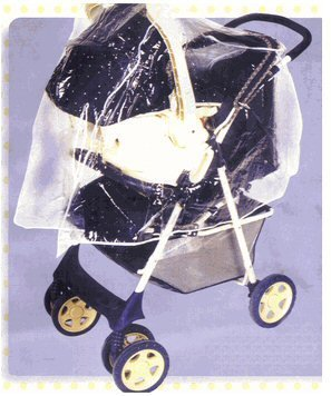 Extra Large Rain Cover Fits 4 in 1, Travel Systems and Extra Large Strollers