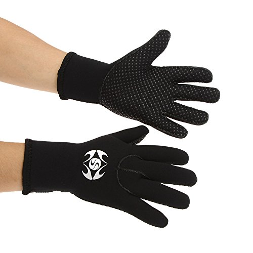 SLINX 3mmスピアフィッシングシュノーケリング暖かい手袋をサーフィンダイビングネオプレン手袋 並行輸入