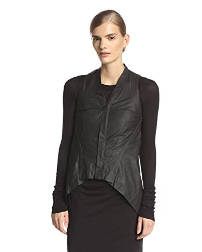 Rick Owens Women's Naska Leather Biker Vest