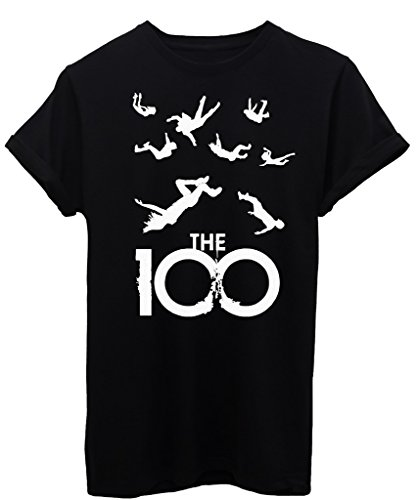 T-Shirt THE 100 HUNDRED - SERIE TV - by iMage - Donna-M-Nera