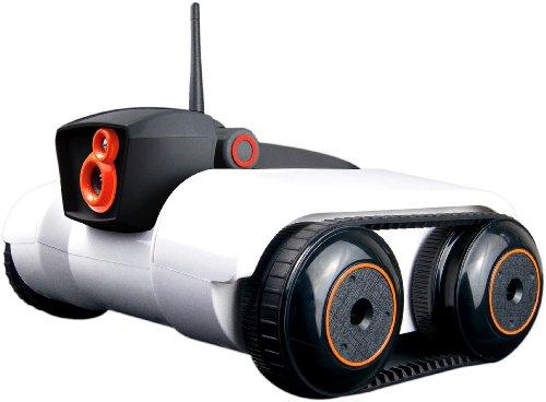Logicom Spy C Tank mit integrierter Kamera für Apple iPhone/iPad/iPod, Android Smartphone und Tablet-PC weiß