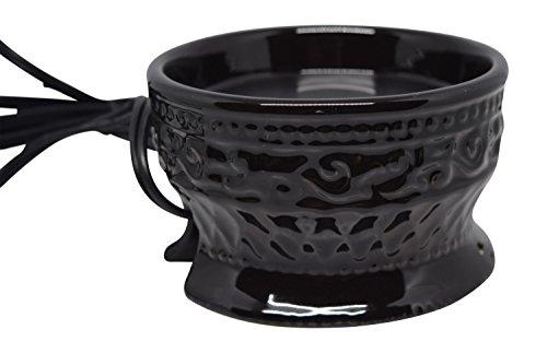 CERAMIC JAR WARMER (BLACK) (Extra Large Electric Heater compare prices)