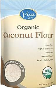 Amazon.com : Viva Labs Organic Coconut Flour: Non-GMO, and