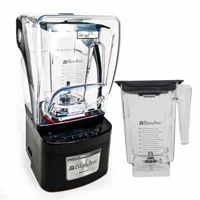 Blendtec Stealth Counter-Top Blender 2 ea Wildside Jars 100340 from Blendtec