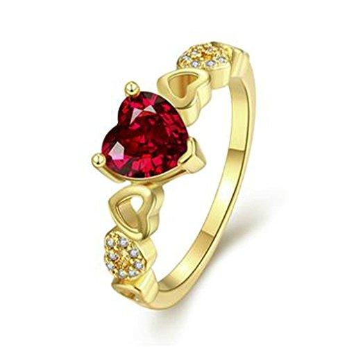 AnaZoz-Femme-Bague-Mariage-Plaqu-Or-Cur-Forme-Romantique-Amour-Incrust-Oxyde-de-Zirconium-Cristal-CZ-Bague-Anneau-Fille-Cadeau-Anniversaire