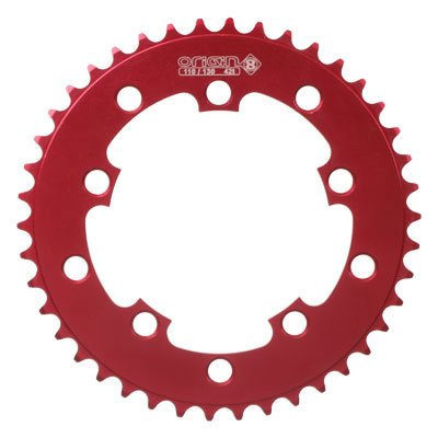 Origin8 BMX/Singlespeed Bicycle Chainring - 1/2 x 3/32 46T Red