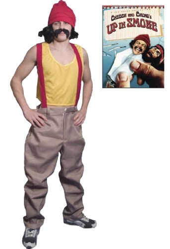 Cheech & Chong Cheech Up in Smoke Movie Deluxe Halloween Costume Set (Adult Standard)