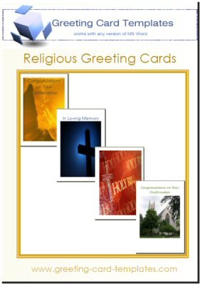 Religious Greeting Card Templates For Microsoft Word Picture