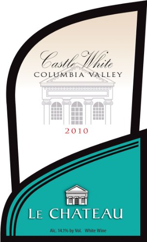 2010 Le Chateau Castle White Washington Wine