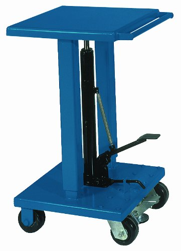 Wesco 260061 Steel Standard Duty Lift Table, 1000 lbs Capacity, 18
