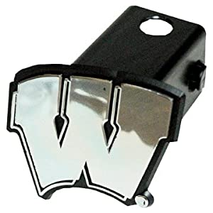Buy NCAA Wisconsin Badgers Car Trailer Hitch Cover by Game Day Outfitters
