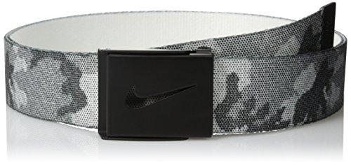 Nike Men's Graphic Reversible Web Belt, Black, One Size (Nike Bottle Opener Belt compare prices)