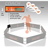 Quick Feet Coach Upgrade Soccer Training Aid, Black/Orange