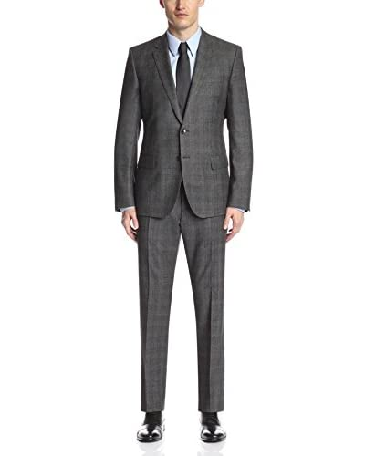 Hugo Boss Men's Tonal Check Suit