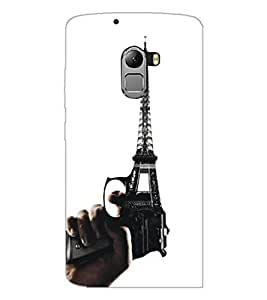 PrintDhaba Tower D-5400 Back Case Cover for LENOVO K4 NOTE A7010a48 (Multi-Coloured)