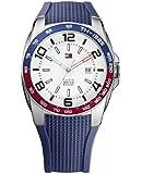 Tommy Hilfiger Watches Herren-Armbanduhr XL Analog Quarz Silikon 1790885