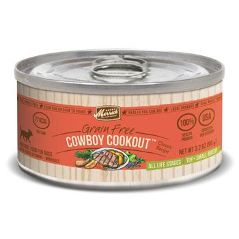 Merrick Classic Grain Free Small Breed Cowboy Cookout Canned