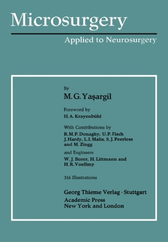 Microsurgery: Applied to Neurosurgery