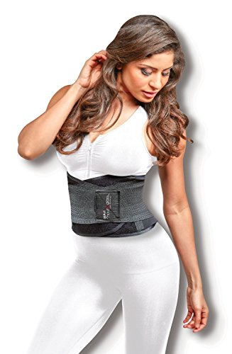 b3780f53b9 Genie Hourglass Waist Trainer Belt (Black 1X 2X) - Shapewear for Women