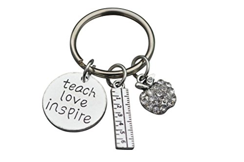 Teacher Keychain, Teacher Jewelry, Teacher Gift - Show Your Teacher Appreciation