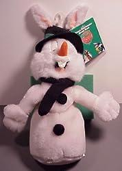 Warner Bros. Bean Bag Plush Bugs Bunny as snowman